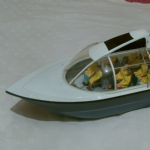TV prop model boat ade for pinewood studios unknown show